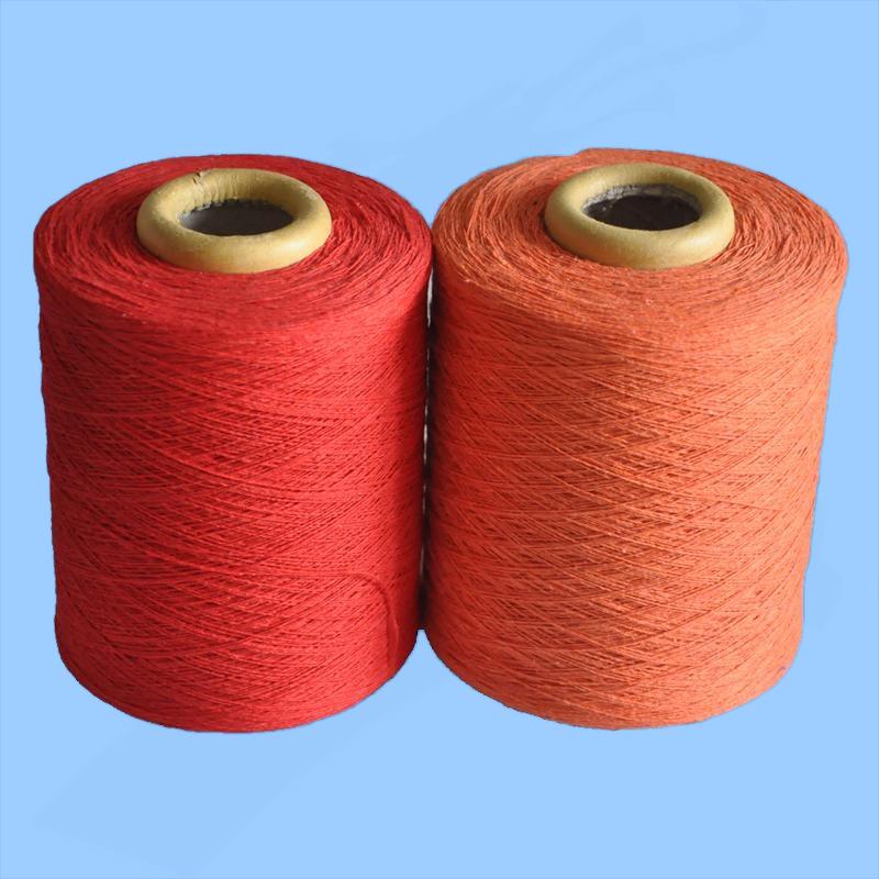 recycled cotton glove knitting yarn