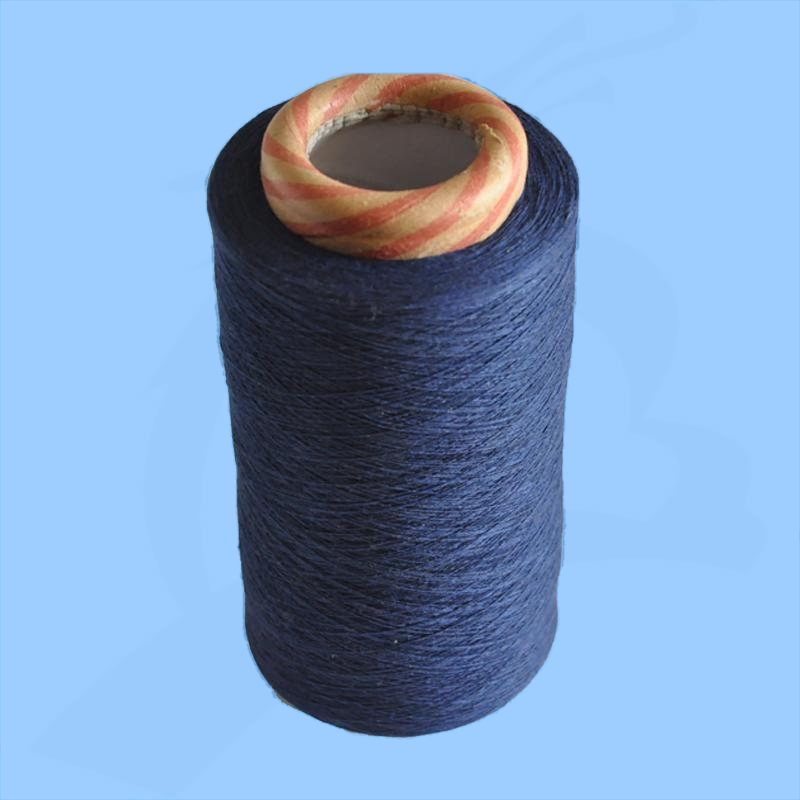 colored recycled open end cotton yarn for socks in china